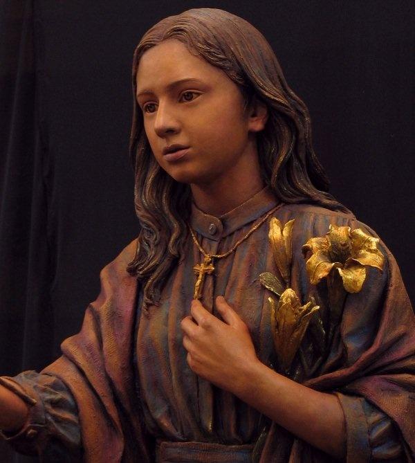 St Maria Goretti Sculpture