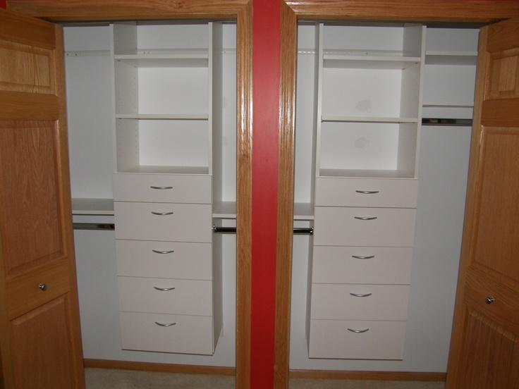 Reach In Closet Organization   A Custom Designed Organization System Will  Transform Your Reach