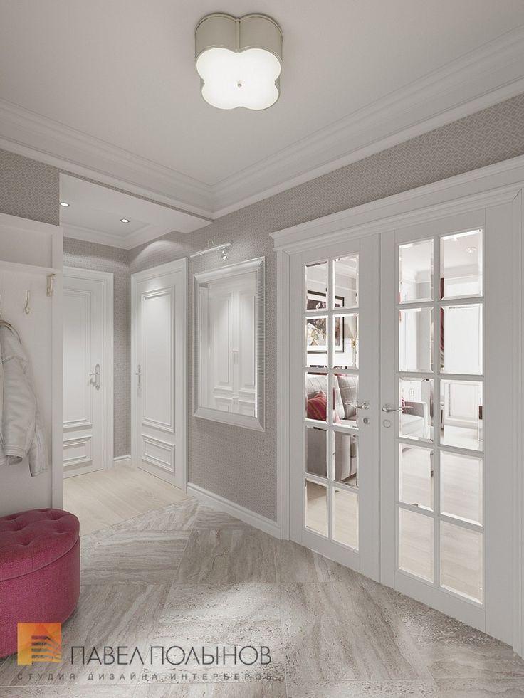 Фото: Прихожая - Интерьер квартиры в классическом стиле в ЖК «Времена года», 61 кв.м.