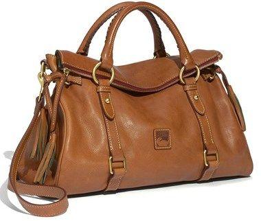Dooney & Bourke 'Florentine Collection' Vachetta Leather Satchel - #ad