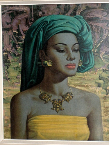 Tretchikoff. (This is the painting I have wanted since I was a little girl!!!)