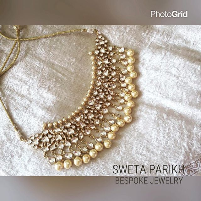 "The ""sonam kapoor choker"" is now on board with us !! ❤️ #choker #kundanjewelry…"