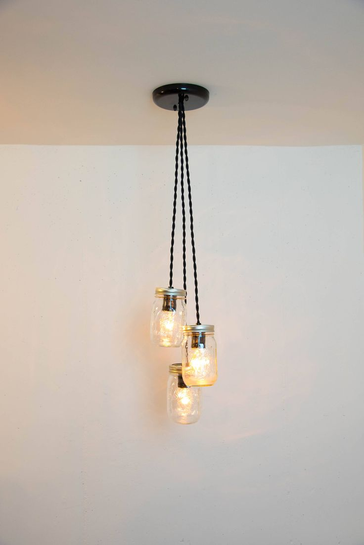 Pendant Lights From Mason Jars : Best mason jar lights images on