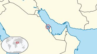 Bahrain in its region ◆Bahrain – Wikipedia https://de.wikipedia.org/wiki/Bahrain #Bahrain
