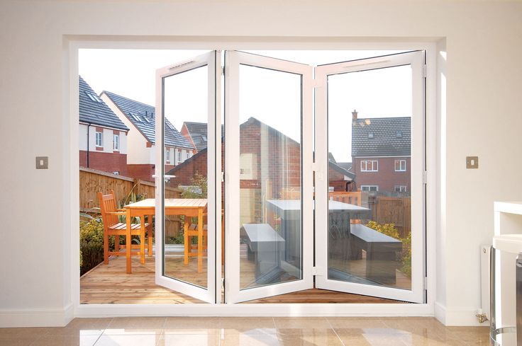 Image of: Amazing Bifold Patio Doors