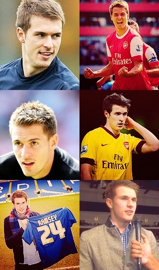 Aaron James Ramsey (born 90Dec26) is a Welsh footballer who plays for Arsenal and has captained the Wales national football team. Before turning to football, he was a keen rugby player and was even approached by Scouts.  Ramsey speaks both Welsh and English.
