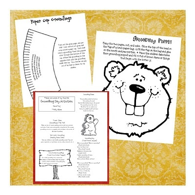 ground hog day printables
