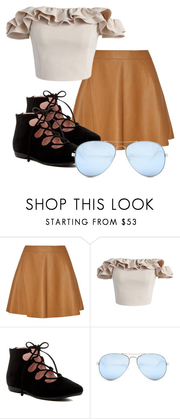 """Eliza Schuyler: Alexander Hamilton"" by dsturner on Polyvore featuring Chicwish, Taryn Rose and GUESS"