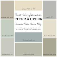 Fixer Upper Paint Colors | Favorite Paint Colors Blog