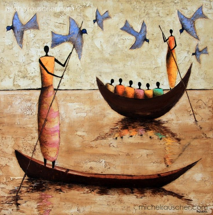 Michel RAUSCHER | Peintures - Huile sur toile - 60 x 60 cm- 2011