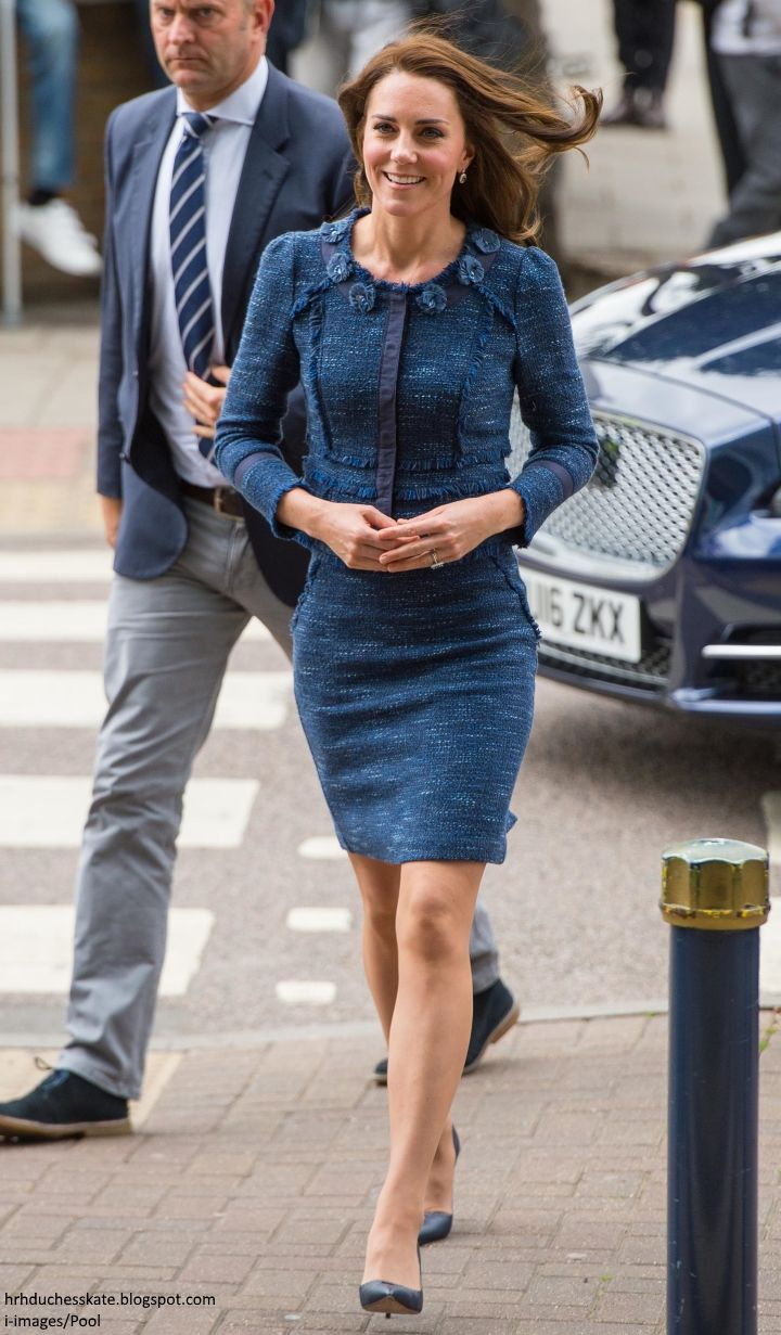 12th June 2017: Kate chats to staff and meets victims of the London Bridge terrorist attack whilst she makes a surprise visit to King's College Hospital London.