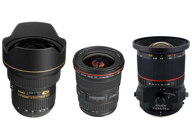 Landscape Photography Wide Angle DSLR Lenses - The Complete Guide
