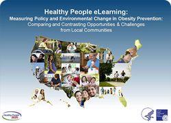 Healthy People eLearning