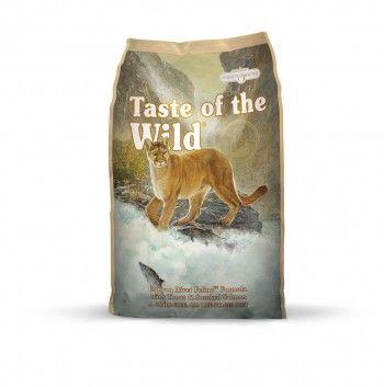 Taste of the wild canyon river feline 2,27kg. Hinta 17,90 €.