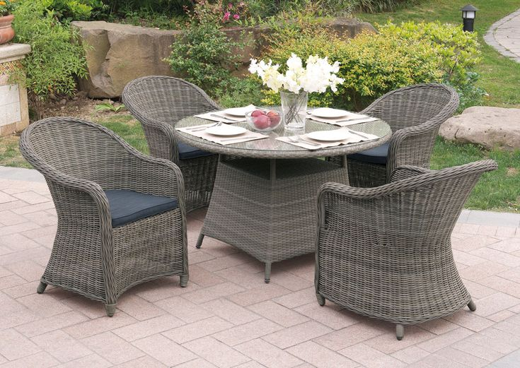 poundex p50264 outdoor 5 pcs patio table set