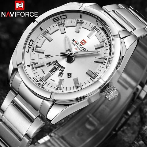 NAVIFORCE Brand Men Watches Luxury sport Quartz 30M waterproof watches    #watches #watchesforsale #luxurywatches #menswatch #time #watchesofinstagram #timeless #android #smartwatch #android #samsung #sanda #mechanical #gold #winner #kids #dicaprio #ios