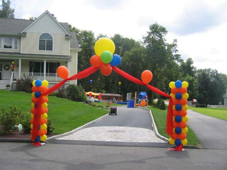 1000 images about balloon arches entrances on pinterest for Balloon decoration los angeles