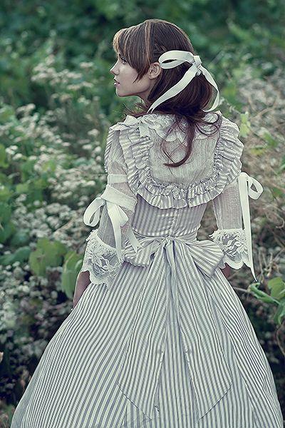 very long dress #lolita