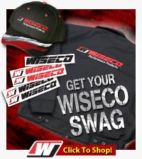Wiseco Manufactures High Performance Forged Pistons & Performance Parts for Motorcycles, ATVs, Snowmobiles, Marine, and Automobiles