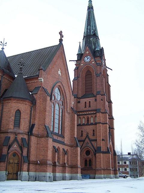 Umeå Church by Lila Rache, via Flickr