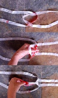 How to Make Plarn (yarn from cut-up plastic bags)