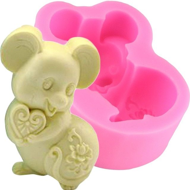 Silicone Soap Mold Angel Sugarcraft Cake Decorating Fondant Mold Y