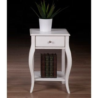 Shop for Alexandra Brush White 1-drawer Nightstand. Get free shipping at Overstock.com - Your Online Furniture Outlet Store! Get 5% in rewards with Club O!