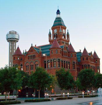 Popular Tourist Attractions in Dallas City in Texas, USA