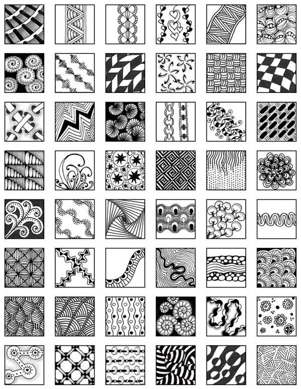 1000+ images about Zentangles patterns / doodles on Pinterest ...