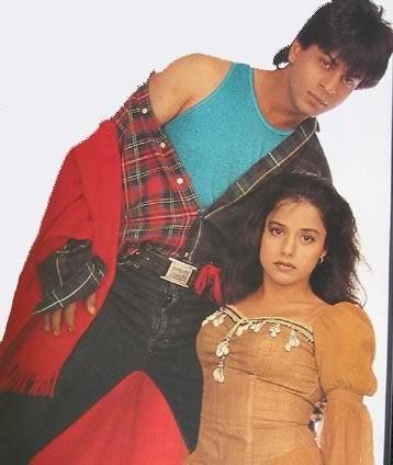 Shahrukh Khan and Anjali - Trimurti (1995)