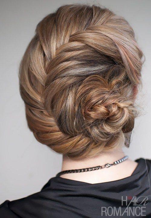 seashell braided updo