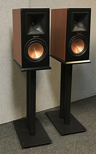 These all steel fill-able speaker stands by Vega A/V are perfect for any Klipsch Bookshelf Speakers. They Will provide the base needed to help your speakers produce the low frequencies that add so much to our music and movies. These Stands are fill-able with Sand or Metal Shot for optimum sound... more details available at https://furniture.bestselleroutlets.com/game-recreation-room-furniture/tv-media-furniture/speaker-stands/product-review-for-klipsch-all-steel-24-speaker-st
