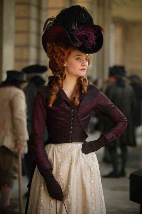 Romola Garai as Barbara Spooner in Amazing Grace // incredible film! Definitely one of the more underrated films from the last decade.