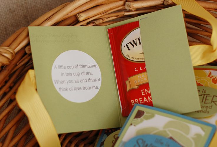Click on the link to see the front of this darling card. This blog has a TON of really cute ideas :)