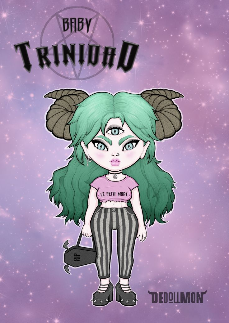 Baby Trinidad from the series DEdollMON by SART