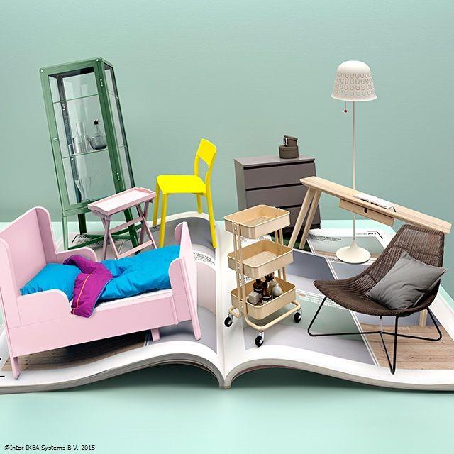 Poți găsi mai multă inspirație și idei creative pentru acasă dacă accesezi catalogul nostru digital. #CatalogulIKEA2016 www.IKEA.ro/Catalogul_IKEA_2016