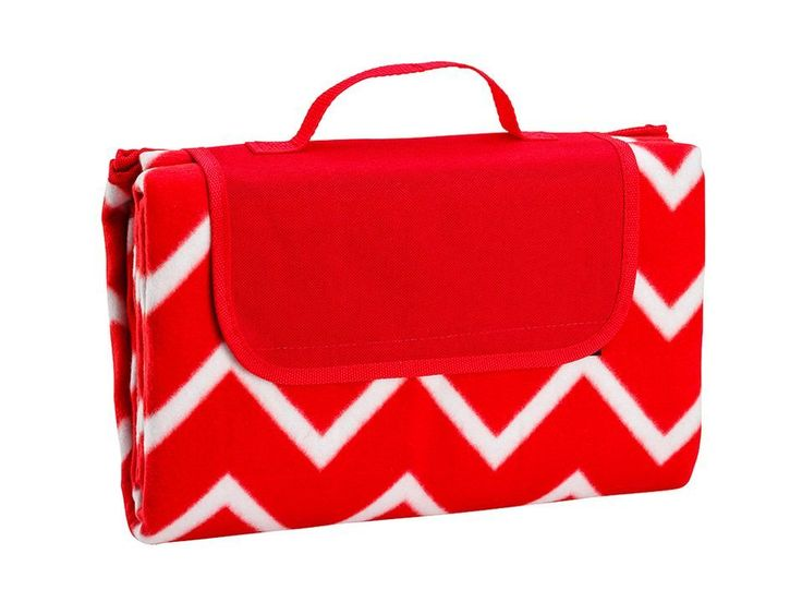 Picnic Rug - Chevron Red - All That I Need