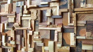 Olga Oreshyna - reclaimed wood art