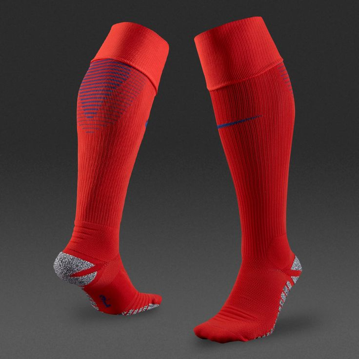 Nike England 16/17 Home Match Sock - Challenge Red/Sport Royal