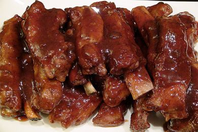 Smack Yo Mama Finger Lickin Grand Marnier Bar-B-Que Pork Ribs | BlackandMarriedWithKids.com