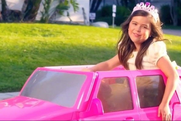 WATCH: Sophia Grace Rides in a Tiny Pink Escalade in New Rap Music Video - Beyond the Charts - Zimbio