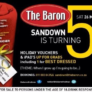 Baron Fredman 5th birthday party