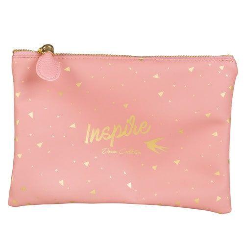 INSPIRE Astuccio rosa in tessuto stampato Rif. 173862