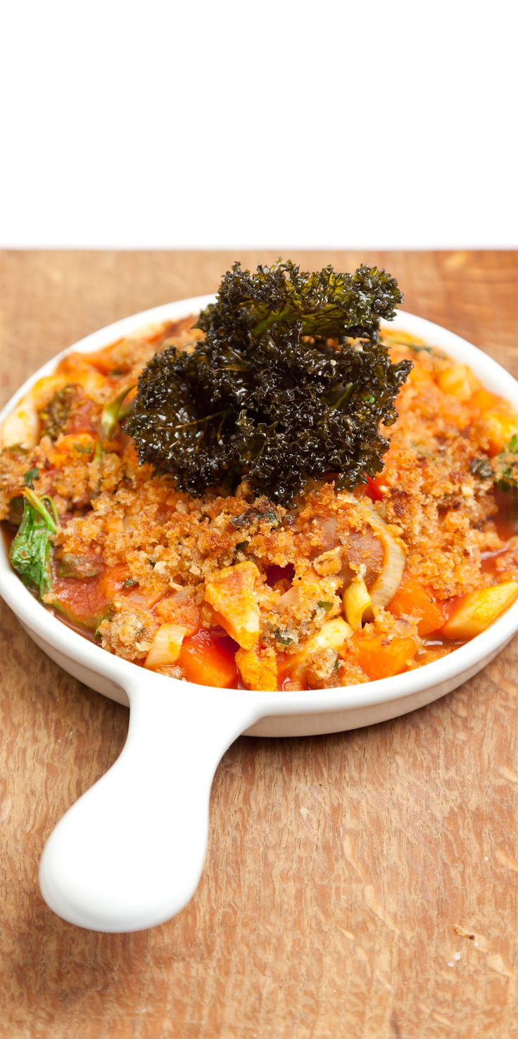 Hearty vegetarian dishes fit for winter can be hard to find - but this vegetable and chestnut stew recipe from James Mackenzie ticks all of those boxes.