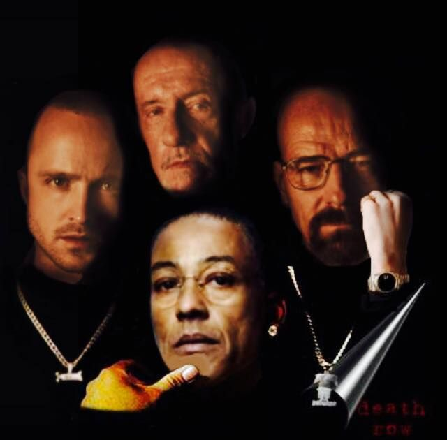 "Jesse, Mike, Walter & Gus "" Death Row "" ~ Breaking Bad ~ "" The Legacy """