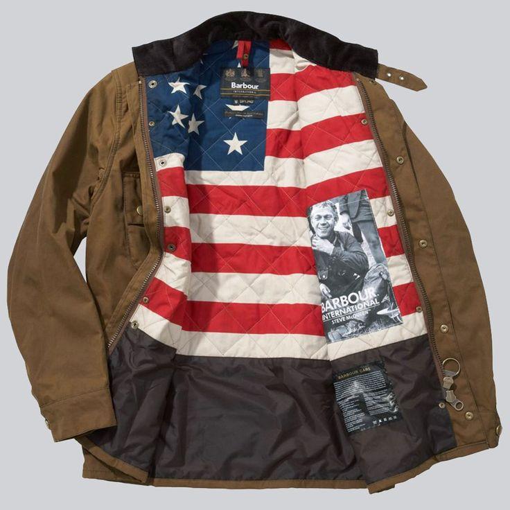 american flag liner