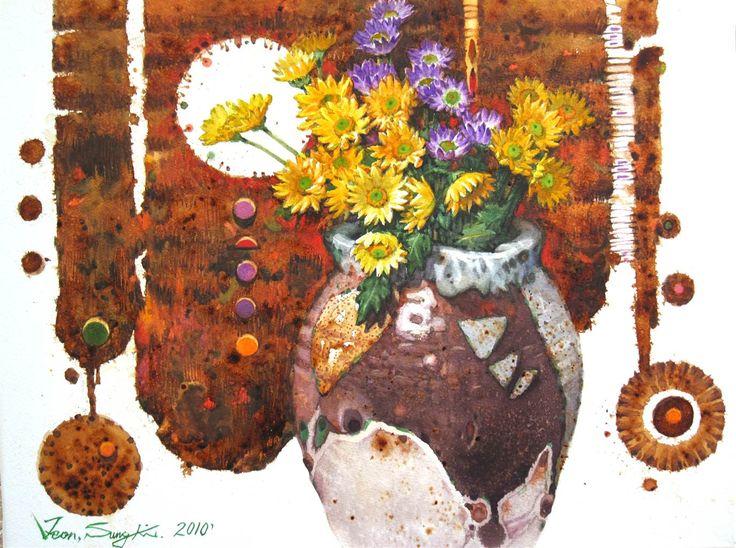 Sung Ki Jeon - Artist's Profile - Agora Gallery
