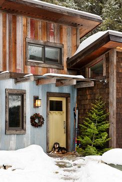 A stylin' mountain shack | ~ House Crazy ~ - see more at: http://www.house-crazy.com/a-stylin-mountain-shack/