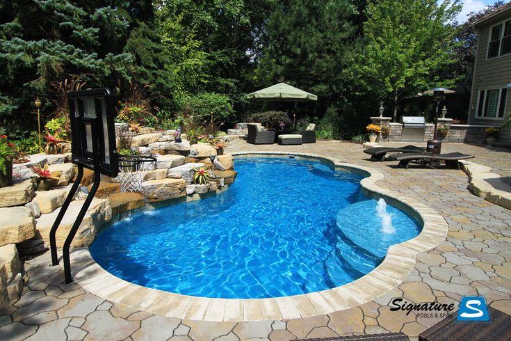 pool pictures | Gemini model pool from Trilogy Pools | Signature Fiberglass Pools ...