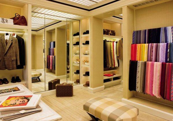 Celebrity Closets: Las Vegas, Dreams Closet, Interiors, Dresses Area, Closet Design, Ties, Dresses Rooms, Architecture Digest, Men Closet
